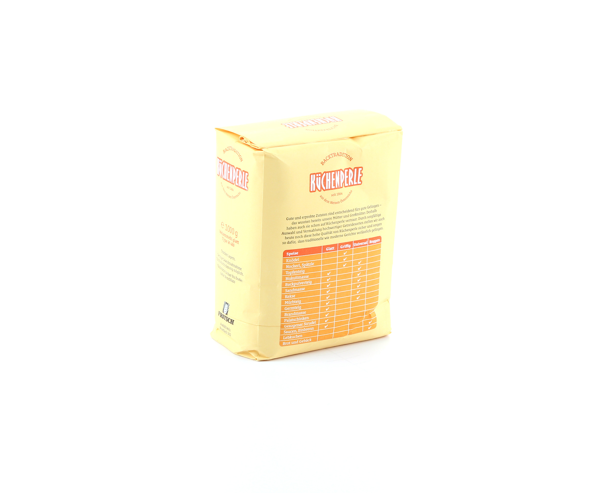 Küchenperle Mehl ~ fritsch küchenperle mehl im unimarkt online shop bestellen