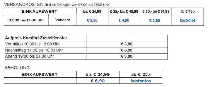 Unimarkt Online Shop Versandkosten