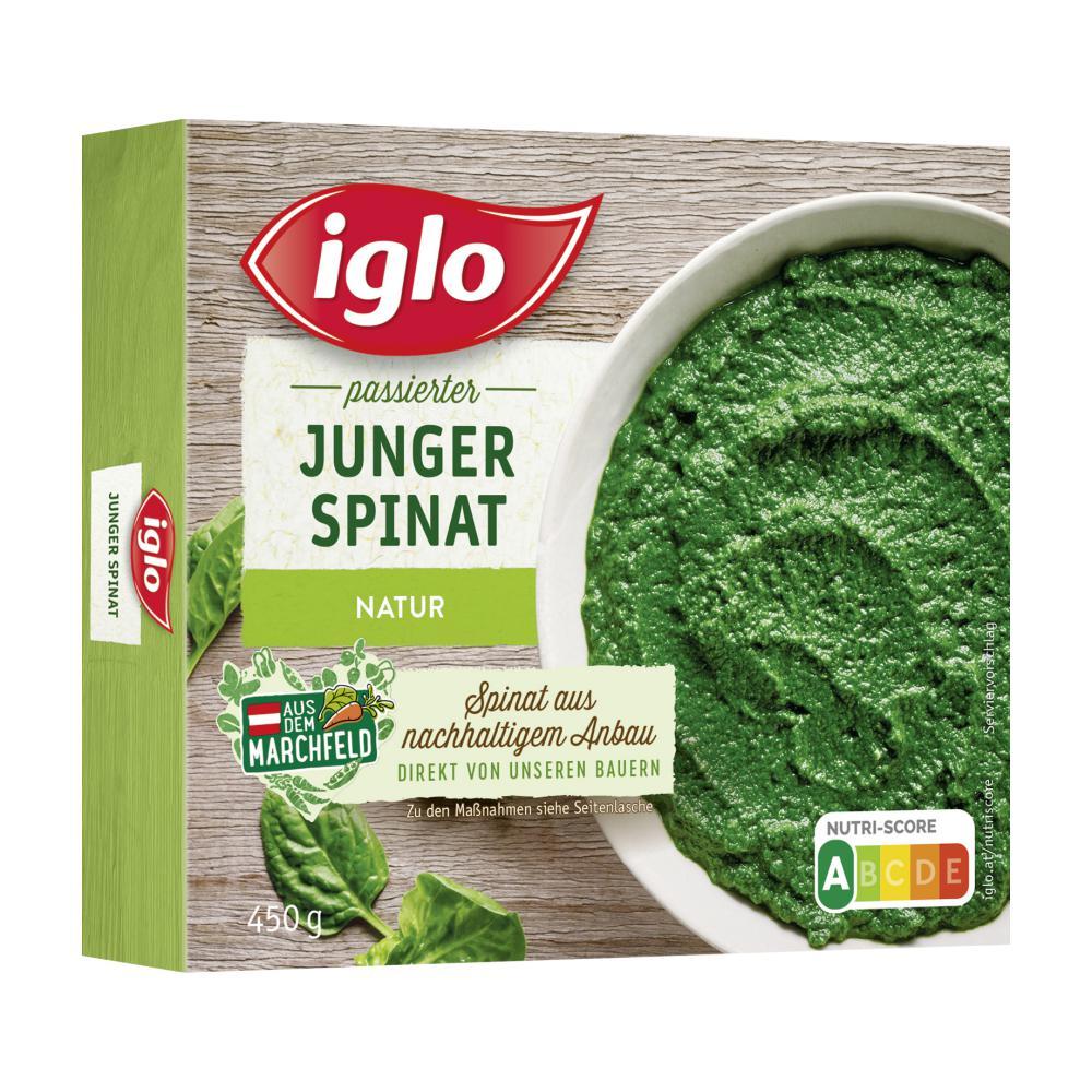Rückrufaktion Iglo Spinat