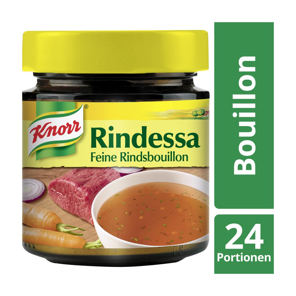 knorr bouillon rindessa im glas im unimarkt online shop bestellen. Black Bedroom Furniture Sets. Home Design Ideas