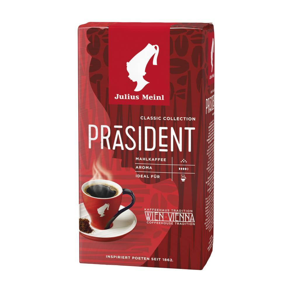 julius meinl kaffee pr sident im unimarkt online shop bestellen. Black Bedroom Furniture Sets. Home Design Ideas