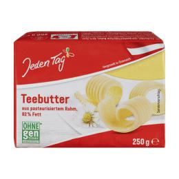 Jeden Tag Teebutter