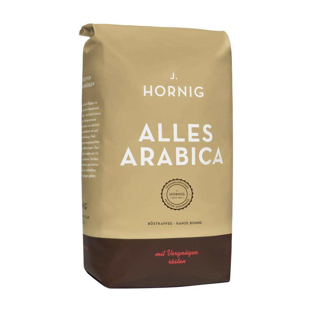 hornig alles arabica kaffee im unimarkt online shop bestellen. Black Bedroom Furniture Sets. Home Design Ideas