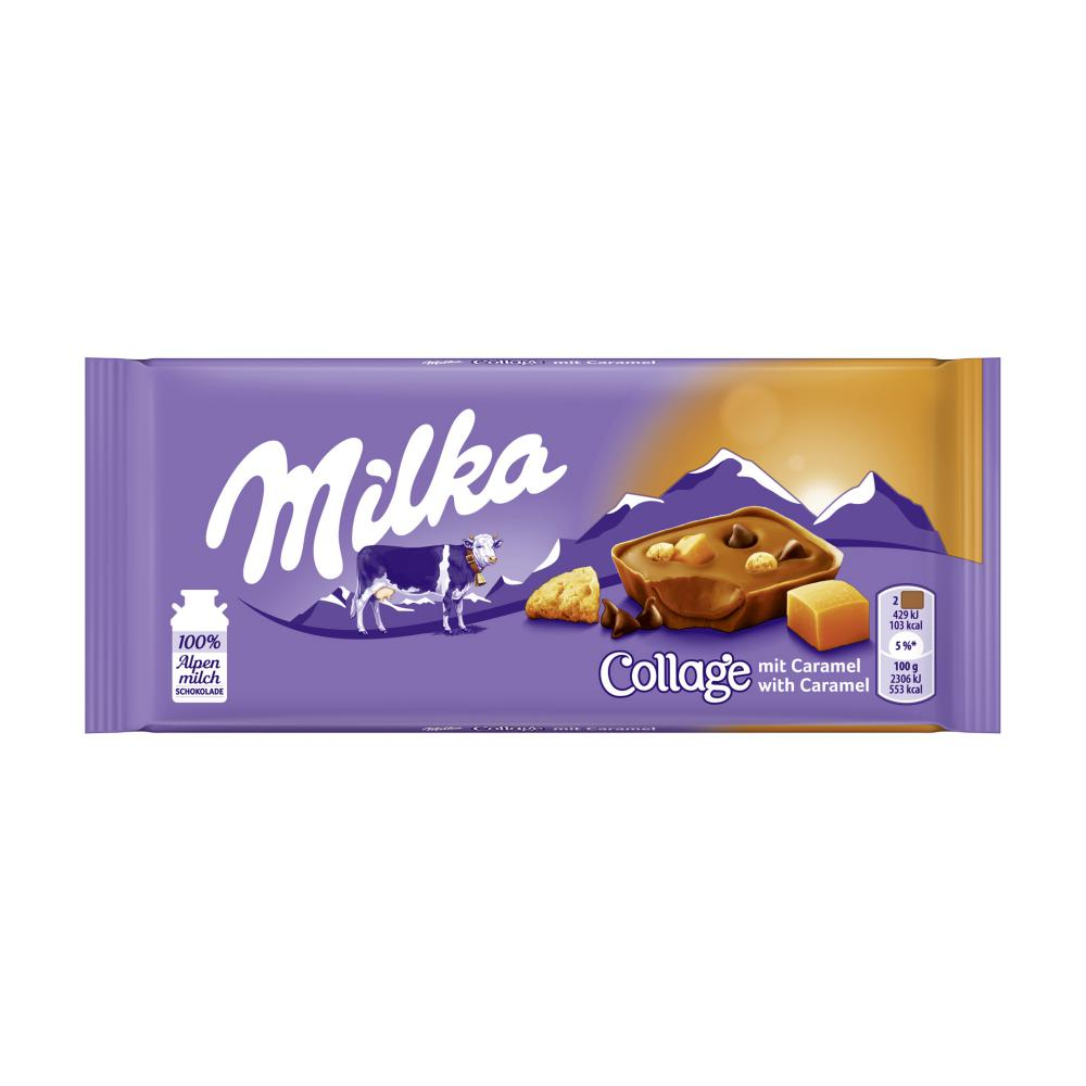 Milka Schokolade Karamell