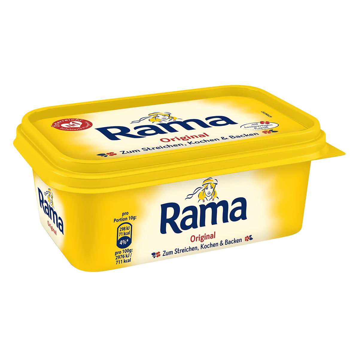 Rama Margarine Inhaltsstoffe