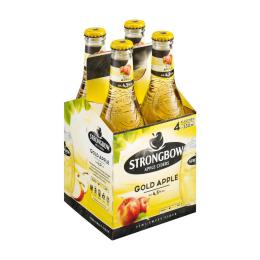 Strongbow Gold Apple Cider Flasche