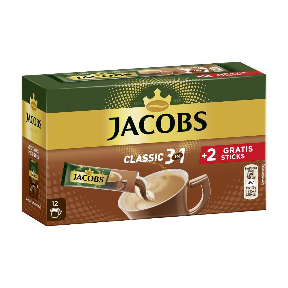 jacobs instant kaffee 3 in 1 im unimarkt online shop bestellen. Black Bedroom Furniture Sets. Home Design Ideas