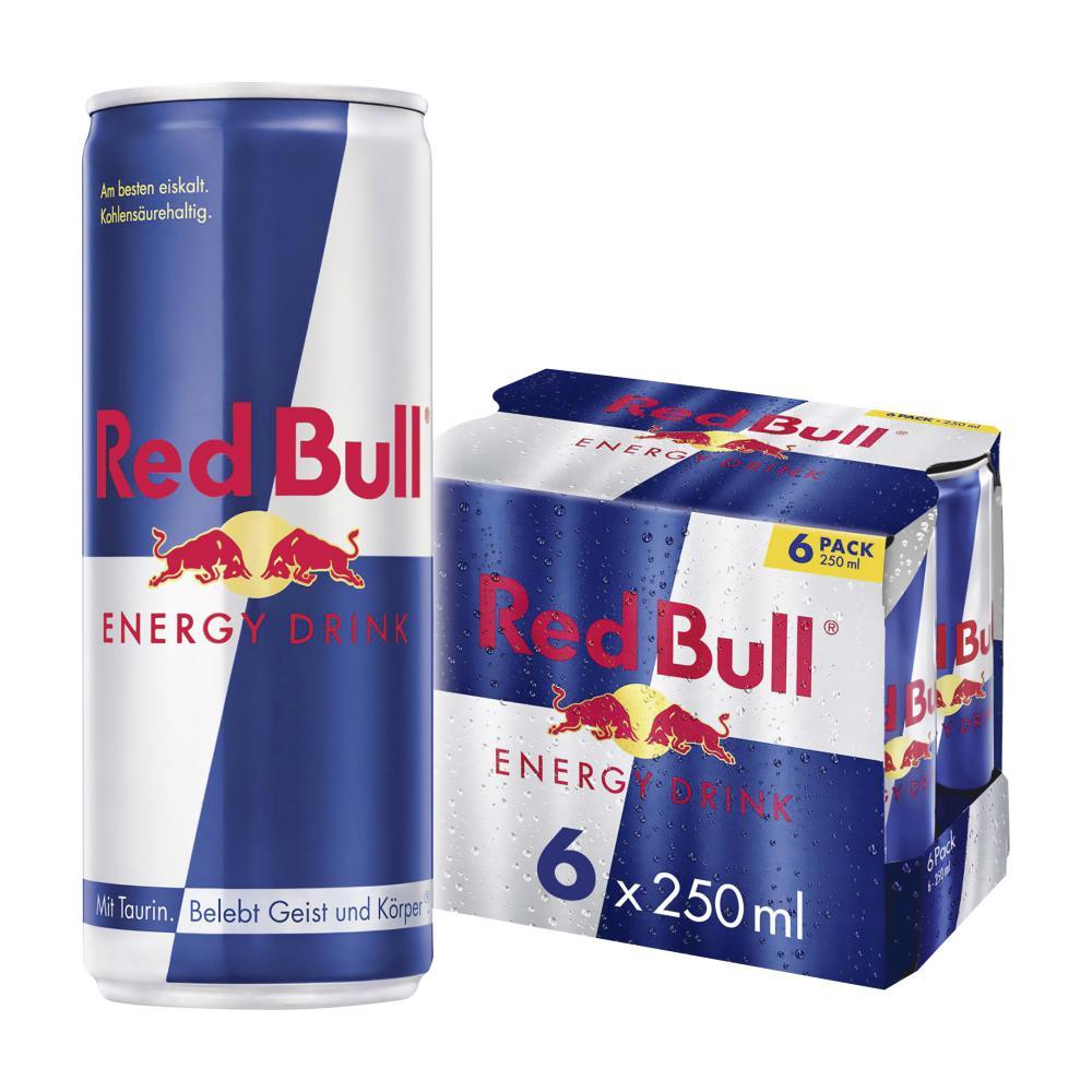 red bull energy drink 6x250ml im unimarkt online shop. Black Bedroom Furniture Sets. Home Design Ideas