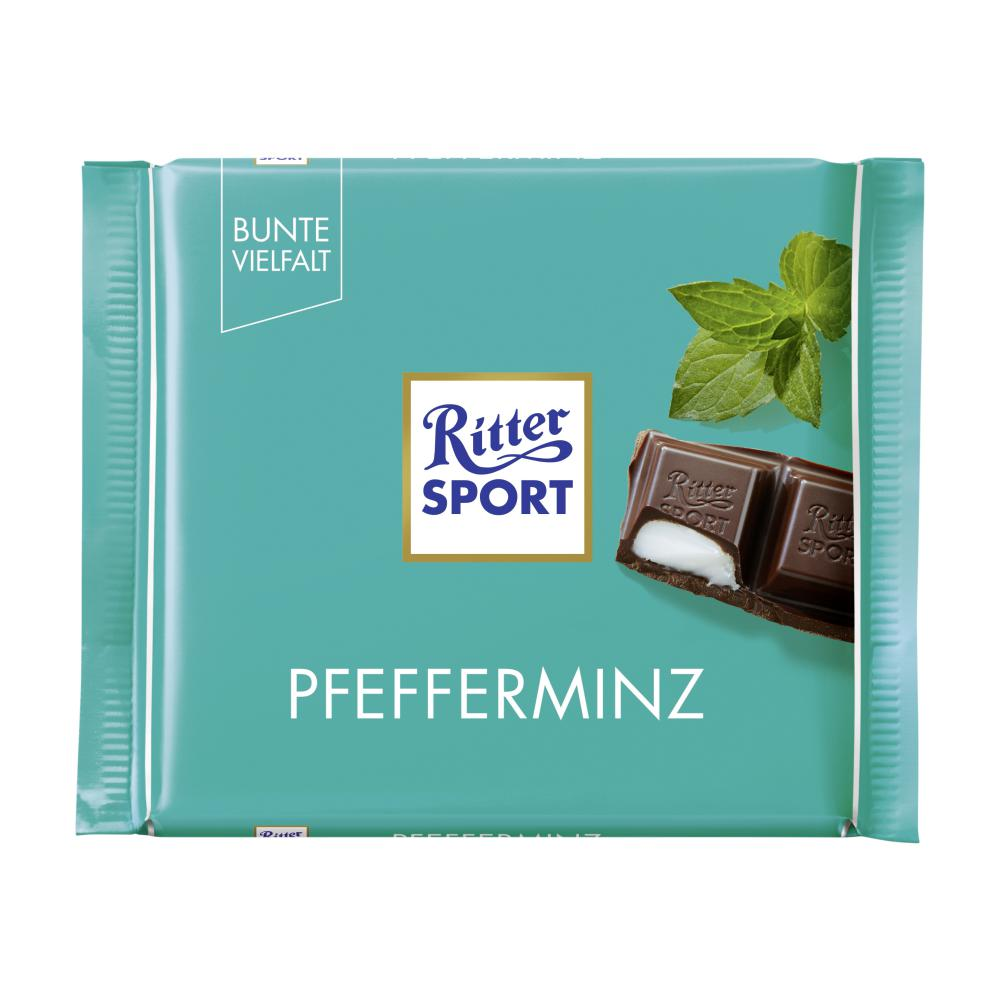ritter sport schokolade pfeff im unimarkt online shop bestellen. Black Bedroom Furniture Sets. Home Design Ideas