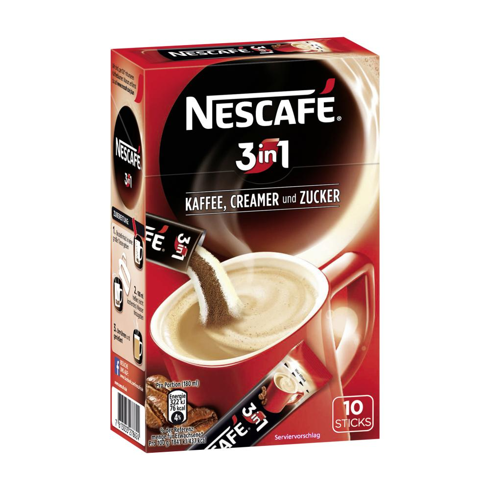nescafe l slicher kaffee 10x1 im unimarkt online shop bestellen. Black Bedroom Furniture Sets. Home Design Ideas