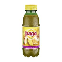 Pago Multivitamin Tropical 0,33l PET-Flasche