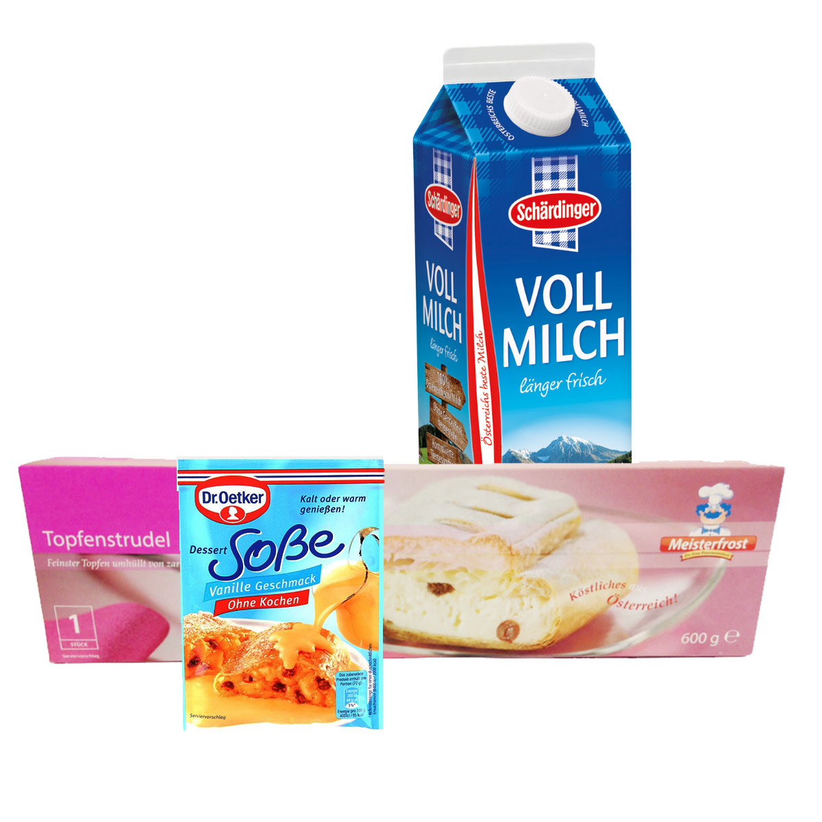 Topfenstrudel Mit Vanillesauce Im Unimarkt Online Shop Bestellen