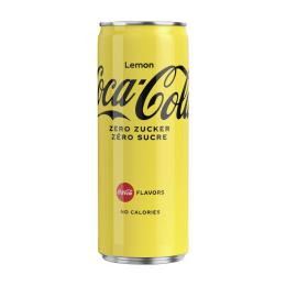 Coca Cola Zero Lemon Dose