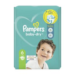 Pampers Baby Dry Gr.6 extra large 13-18kg