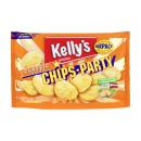 Kellys Chips-Party gesalzen